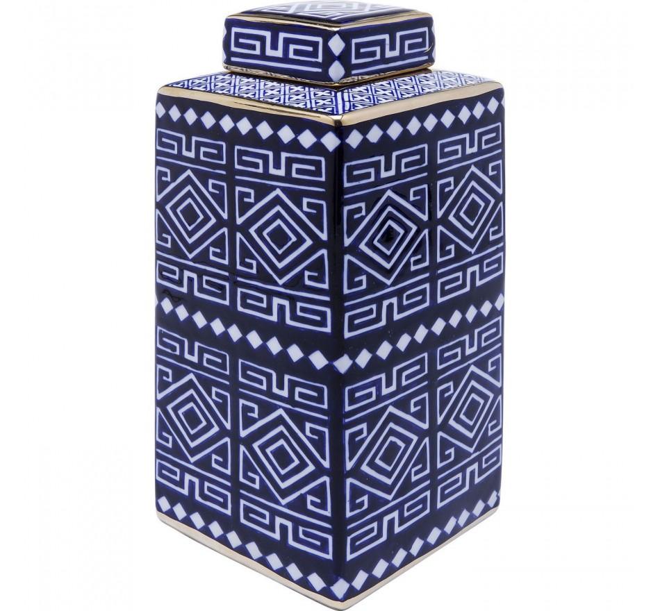 Boîte Mosaico bleue 30cm Kare Design