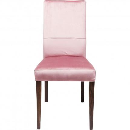Chaise Mara velours rose Kare Design