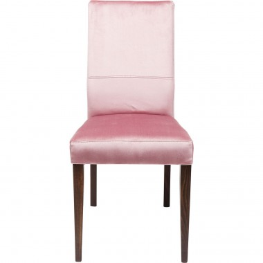 Chaise Mara velours rose Kare Design