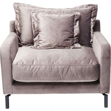 Fauteuil Lullaby Taupe Kare Design