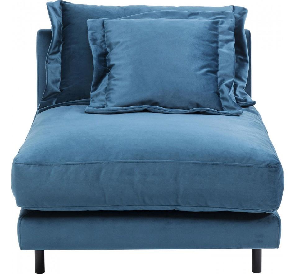 Assise Pour Canapé Lullaby Bleu Pétrole Kare Design