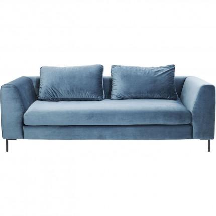 Canapé Gianna bleu-vert 3-places Kare Design