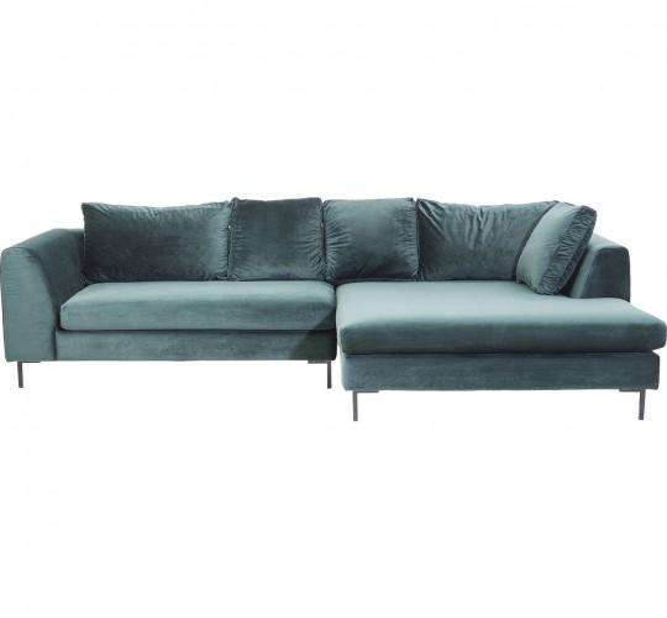 Canapé d'angle Gianna droite vert Kare Design