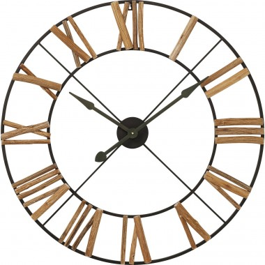Horloge murale Factory nature 91cm Kare Design