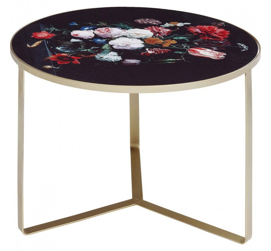Table d'appoint Fleurs 55cm Kare Design