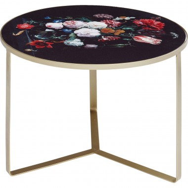 Table d'appoint Fleurs 55cm Kare Design