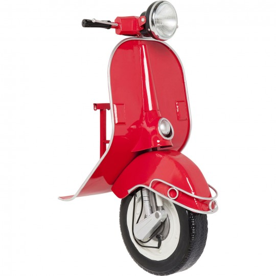 Applique Scooter rouge LED Kare Design