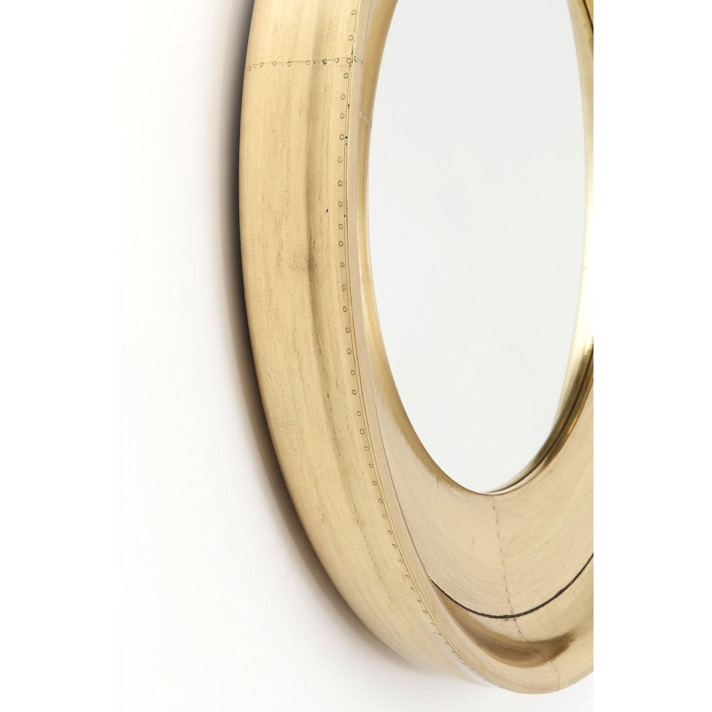 Miroir Crudo rond 80cm Kare Design