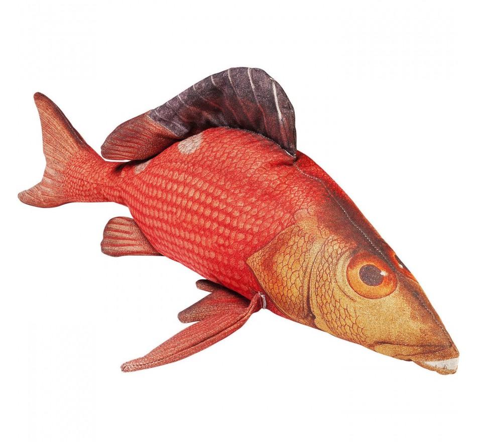 Coussin Shape Poisson rouge 44x95cm Kare Design