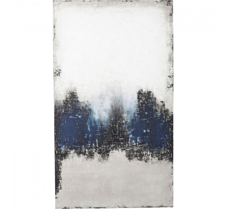 Peinture à l'huile Abstract Into The Sea 210x120cm Kare Design