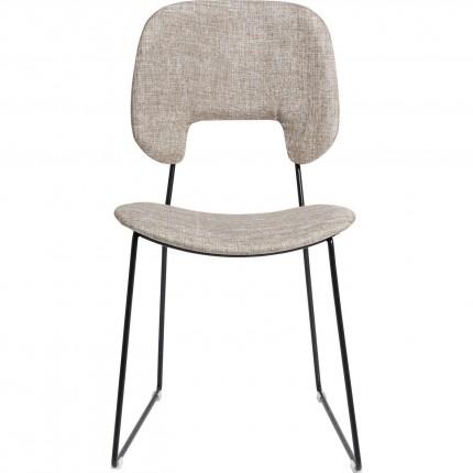 Chaise Festino grise Kare Design