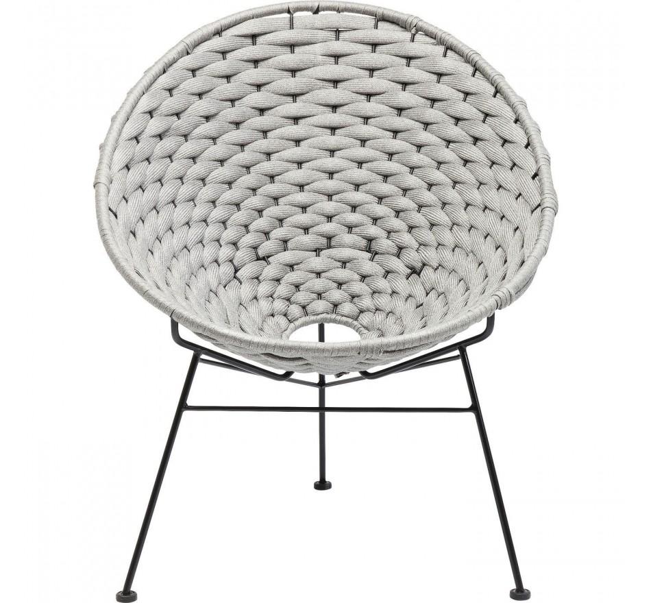 Fauteuil Arriba gris Kare Design