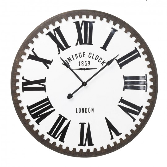 Horloge murale Vintage Clock London 107cm Kare Design
