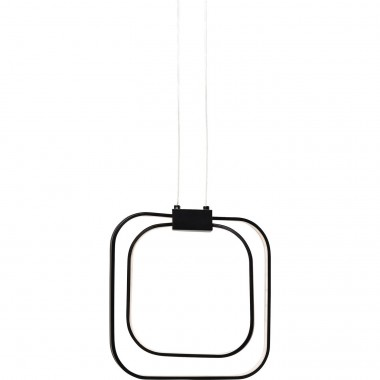 Suspension Cubes noir LED Kare Design