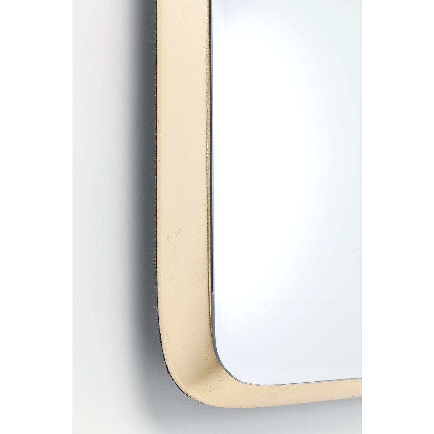 Miroir Jetset rectangulaire 94x64cm doré Kare Design