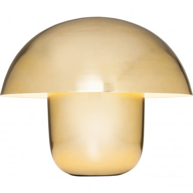Lampe de table Mushroom laiton Kare Design