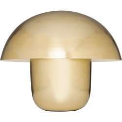 Lampe de table Mushroom laiton Kare Design
