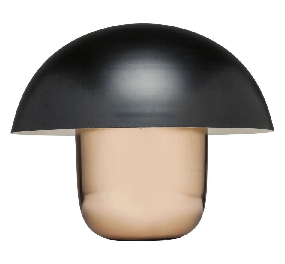 Lampe de table Mushroom noire Kare Design