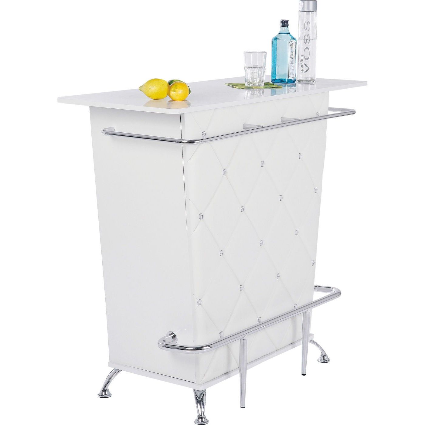Bar Lady Rock blanc 120cm Kare Design