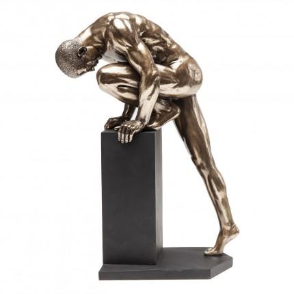 Déco Nude Man Stand bronze 35cm Kare Design