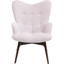Fauteuil Vicky Wilson rose Kare Design