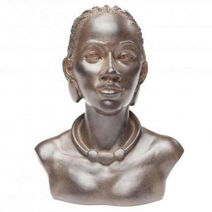 Déco buste femme africaine tresses Kare Design