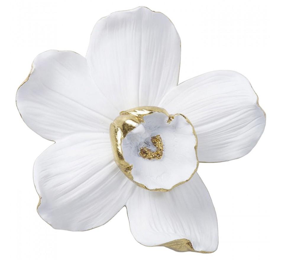 Déco murale Orchidée blanche 25cm Kare Design