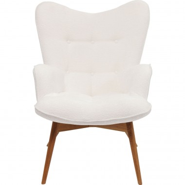 Fauteuil Vicky Hugs blanc Kare Design