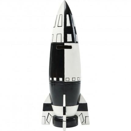 Tirelire Fusée 26cm Kare Design