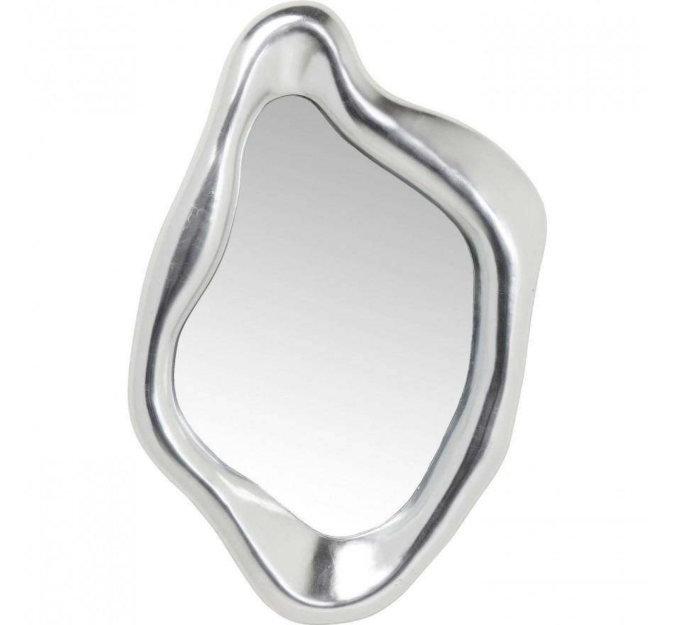 Miroir Hologram argenté 119x76cm Kare Design