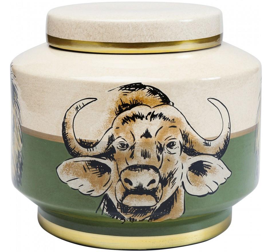 Boîte animaux de la savane 20cm Kare Design