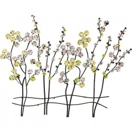 Portemanteau mural branches fleuries Kare Design
