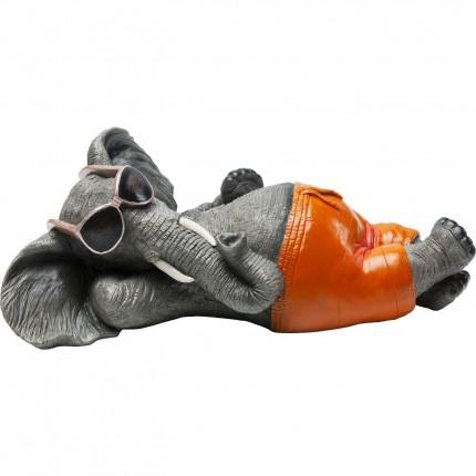 Tirelire Éléphant à la plage Kare Design