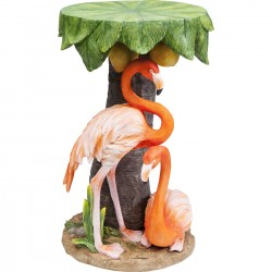 Table d'appoint Animal flamants roses Kare Design