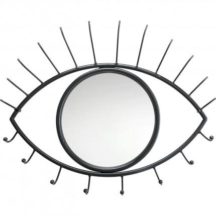 Portemanteau mural oeil miroir Kare Design