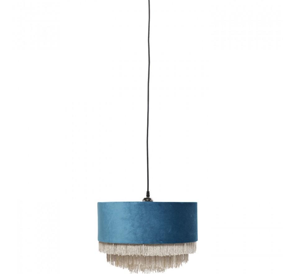 Suspension Tassel bleu pétrole Kare Design