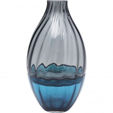 Vase Duo bicolore 34cm Kare Design