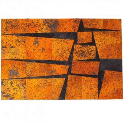 Tapis Blocks orange 240x170cm Kare Design