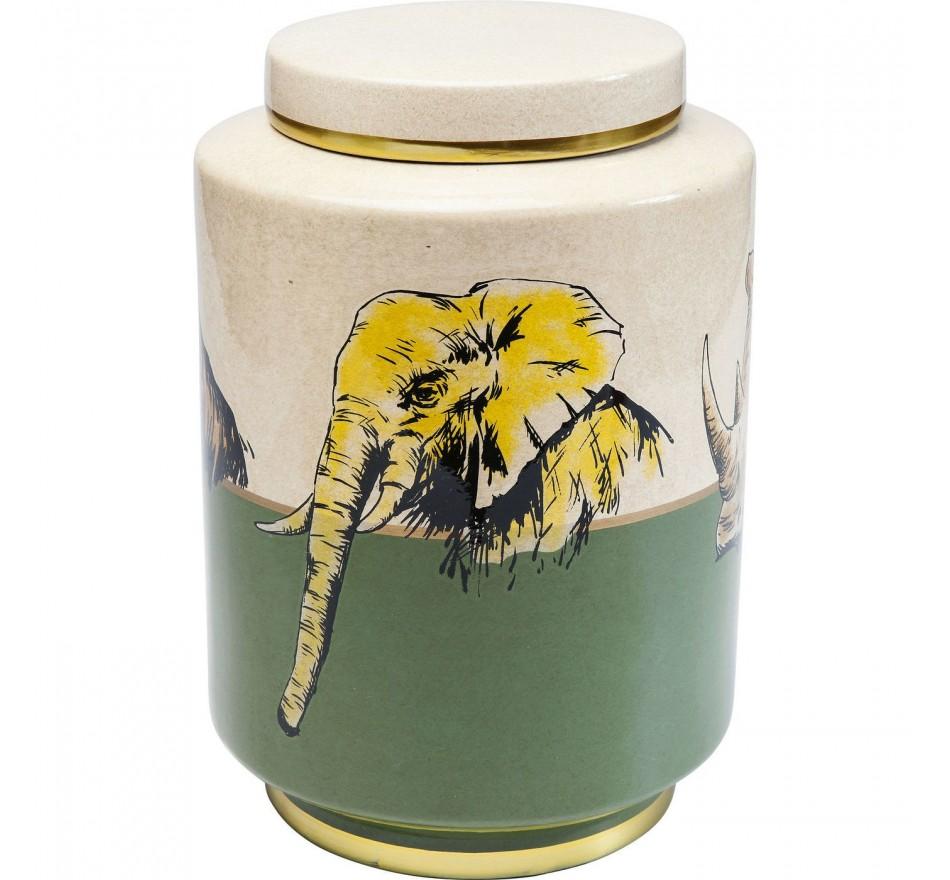 Boîte animaux de la savane 33cm Kare Design