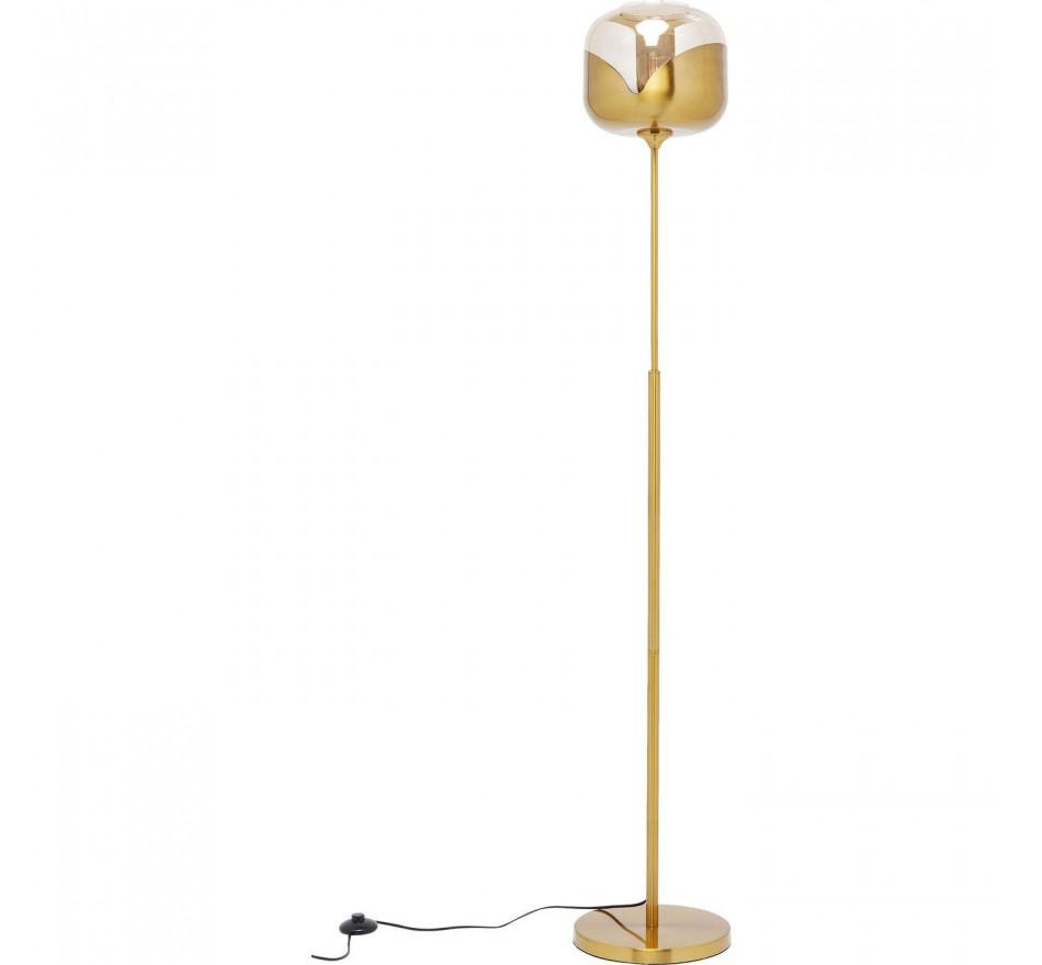 Lampadaire Goblet Ball 160cm doré Kare Design