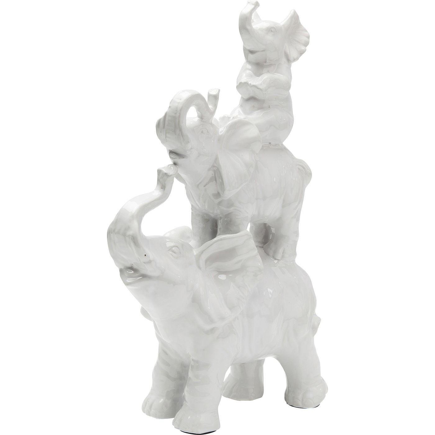 Mille Argent Lot de 2/Lucky /él/éphants Statues