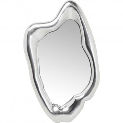 Miroir Hologram argenté 117x68cm Kare Design