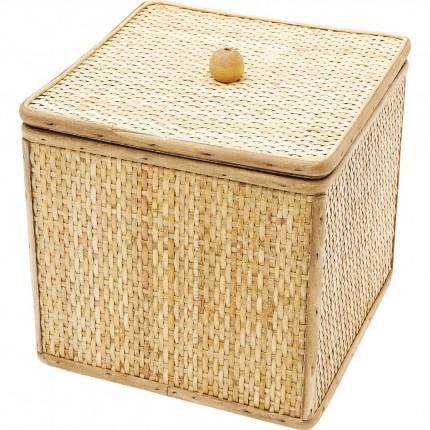 Boîte Bamboo carrée 21x21cm Kare Design