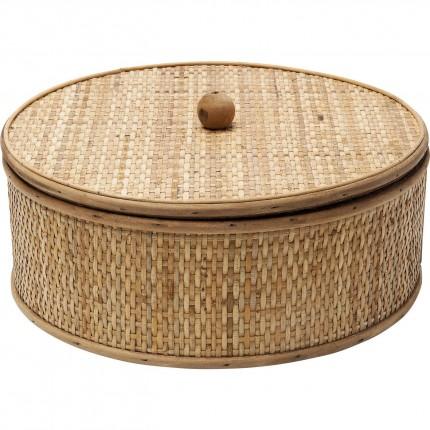 Boîte Bamboo ronde 31cm Kare Design