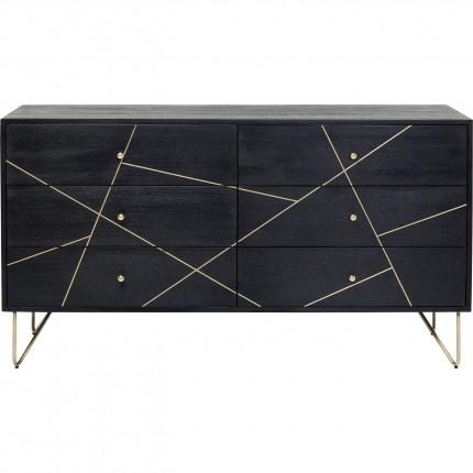 Commode Vein 6 tiroirs Kare Design