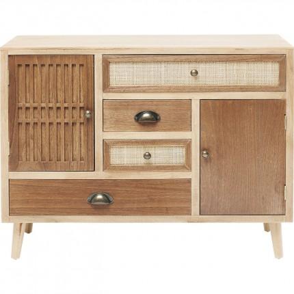 Commode Samos 4 tiroirs 2 portes Kare Design