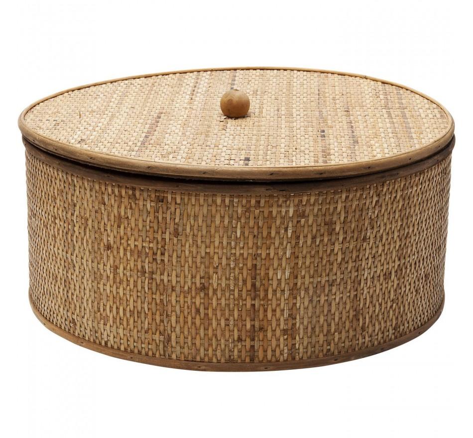 Boîte Bamboo ronde 41cm Kare Design