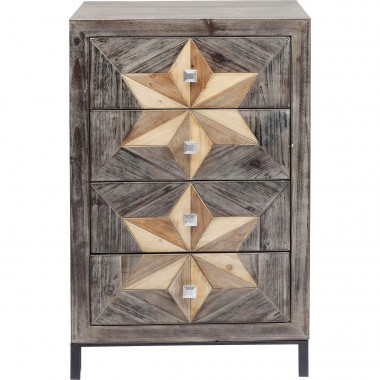 Commode Starry 4 tiroirs Kare Design