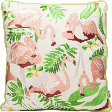 Coussin flamants roses 45x45cm Kare Design
