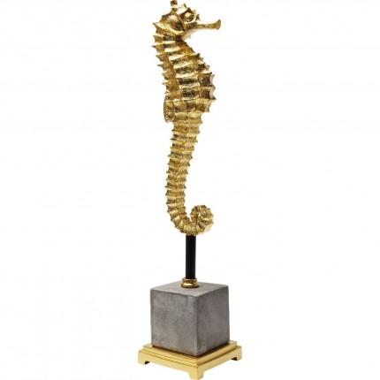 Déco Hippocampe doré 57cm Kare Design